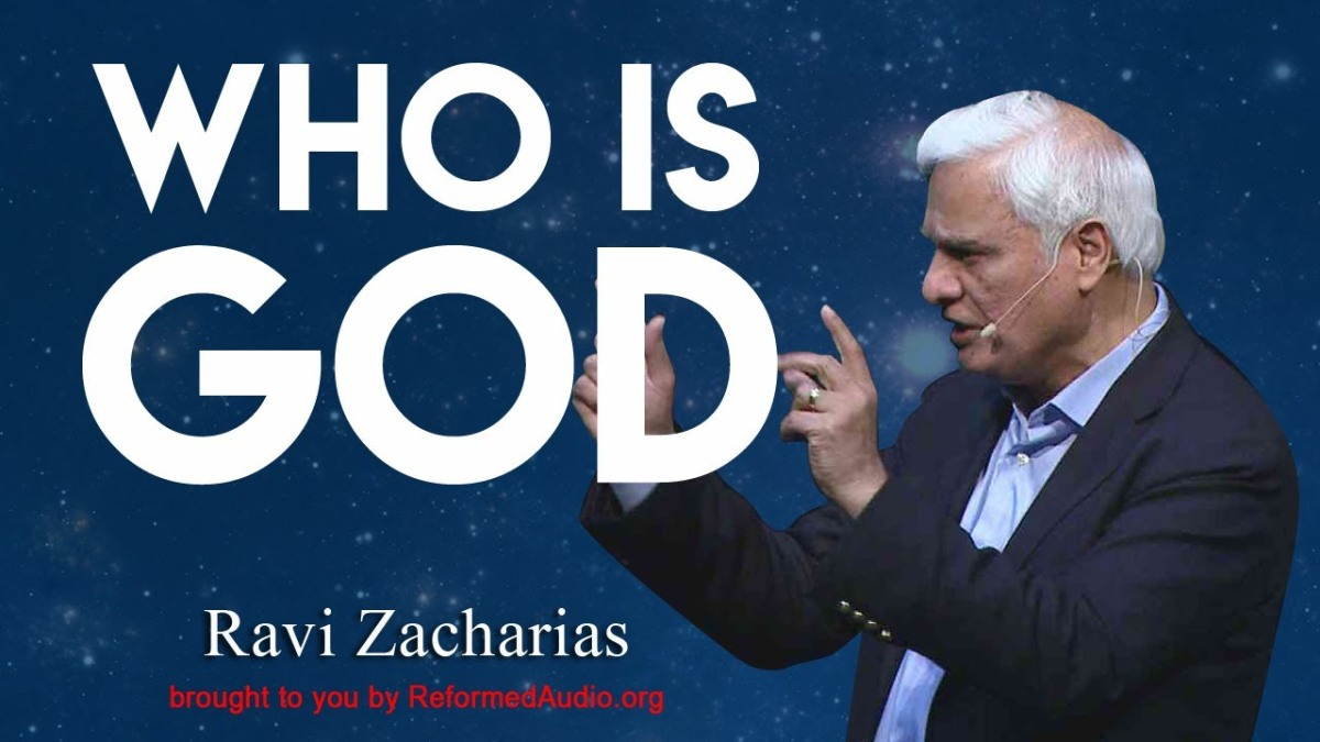 Who Is God | Ravi Zacharias- An ex-Hindu Brahmin