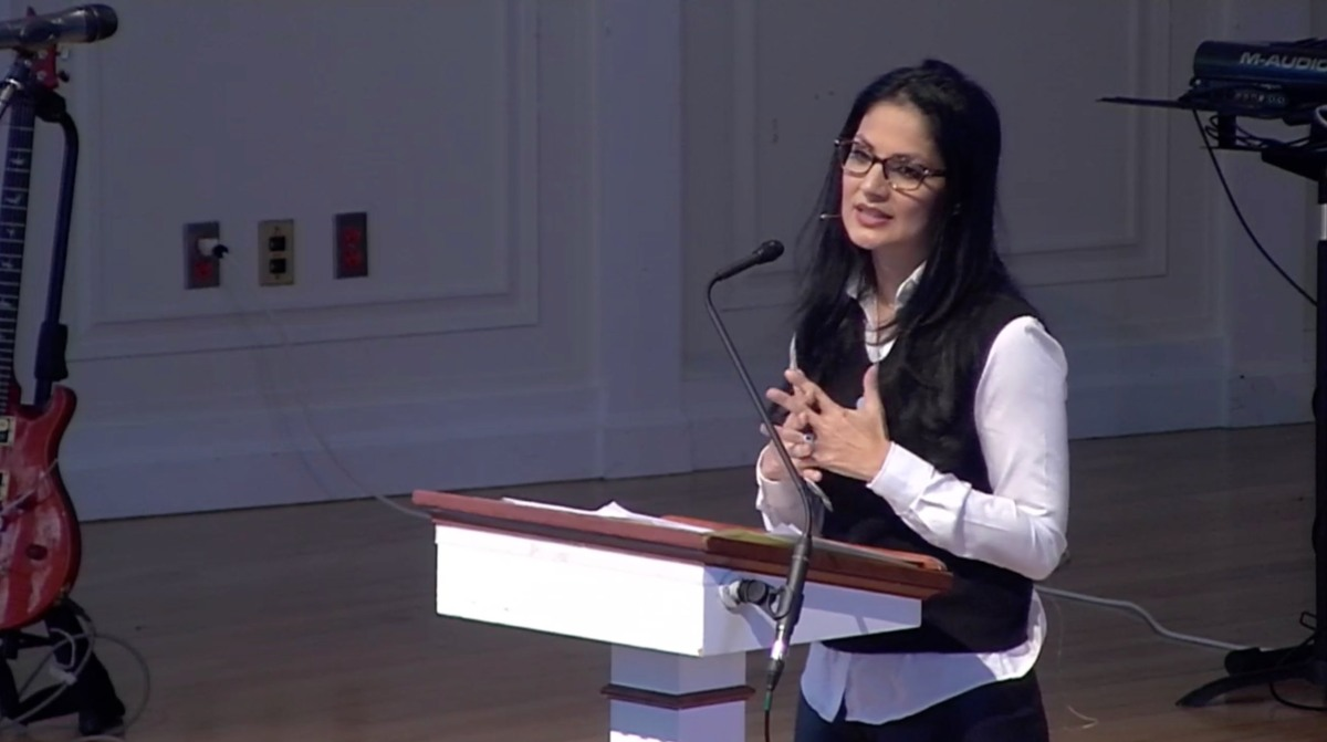 Naomi Zacharias speaks at Gordon College about Love & Life (Daughter of Dr Ravi Zacharias)