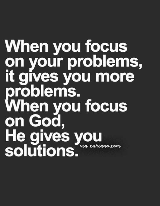 Focus on God, not your problems – The Son of God